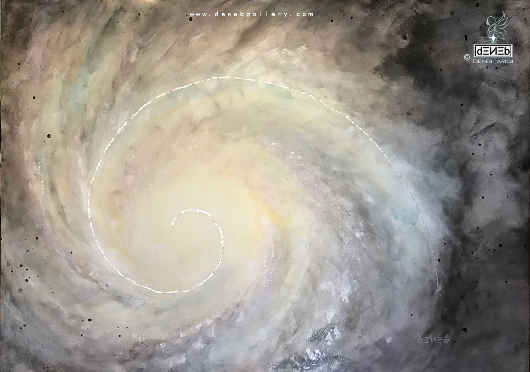 Shell Galaxy - Golden Ratio | 5